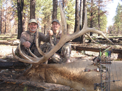 Its tough to beat bulls of this caliber. Chappell Guide Service gets it done even for their archery hunters!!!