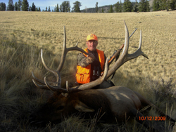 Jake did it again in 2009 putting another client on an awesome unit 76 bull