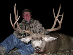 Not only are giant elk found on the Raftopoulos Ranches, but some incredible bucks reside there as well.