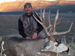 Nevada is famous for giant mule deer bucks. Purple Sage Outfitting has taken their share of the best.