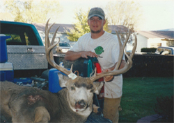Fantastic buck for a young hunter